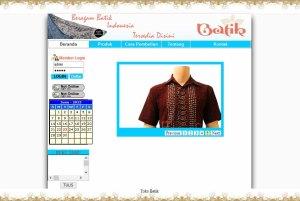 Sistem Informasi Penjualan Online  berbasis Web dengan PHP-MySQL dan Dreamweaver