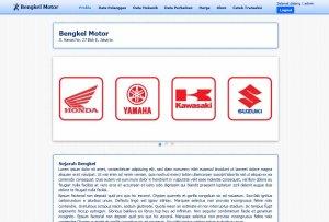 Sistem Informasi transaksi bengkel  berbasis Web dengan PHP-MySQL dan Dreamweaver